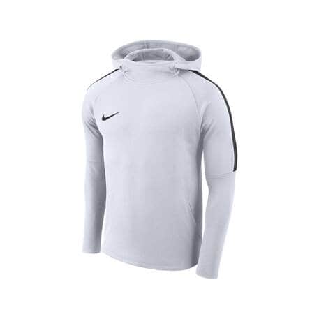 nike academy hoodie herren black white white