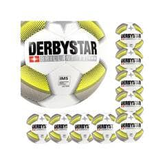 NEU Derbystar Jugend Fußball Apus Pro s-light Gr 5 weiß-rot bis 50/% reduziert
